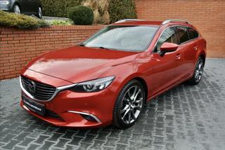 Mazda 6 2,2 129KW REVOLUTION TOP A/T,HEAD-UP,BOSE kombi nafta