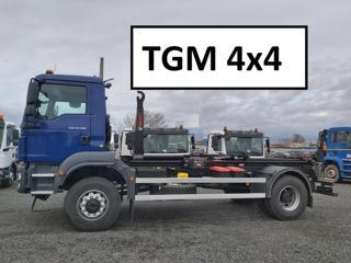 MAN 18.290 TGM 4x4 KONTEJNER 14T pro přepravu kontejnerů