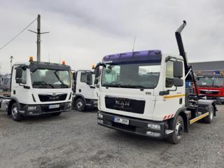 MAN 12.250 TGL KONTEJNER 8T ZÁRUKA pro přepravu kontejnerů