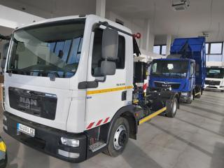 MAN 12.220 TGL KONTEJNER  6T + RUKA pro přepravu kontejnerů