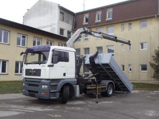 MAN TGA 18.350 JNK + HR EURO 4 pro přepravu kontejnerů