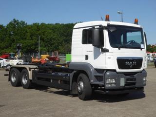 MAN TGS 26.440  6x4 JNK Palfinger EURO pro přepravu kontejnerů