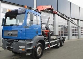 MAN TGA 33.400 6x4 JNK + HR  EURO 4 pro přepravu kontejnerů