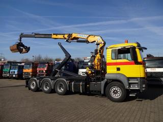 MAN 35.400  8x4 JNK + HR  EURO 4 pro přepravu kontejnerů