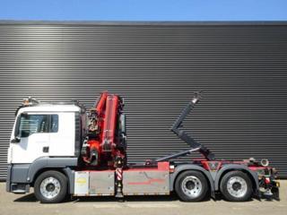 MAN TGS 26.420 6x2 JNK + HR EURO 6 pro přepravu kontejnerů