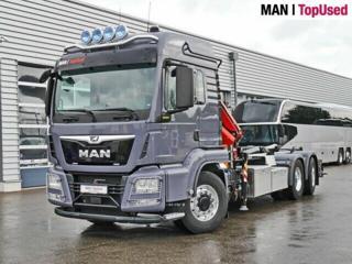 MAN TGS 26.500 6x4 JNK + HR EURO 6 pro přepravu kontejnerů
