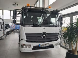 Mercedes-Benz ATEGO RUKA HIAB + KONTEJNER pro přepravu kontejnerů