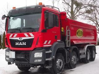 MAN TGS 35.420 8x4 S1 EURO 6 sklápěč