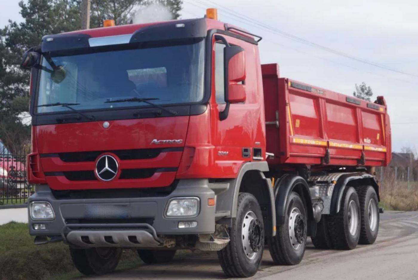 Mercedes-Benz Actros 3244 8x4 Bordmatik EURO 5 sklápěč