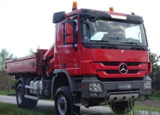 Mercedes-Benz Actros 1846 4x4 sklápěč + HR EURO 5 sklápěč