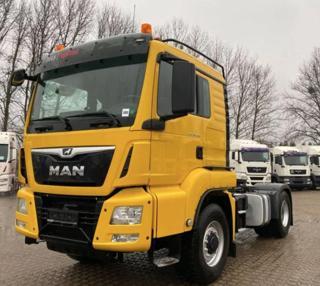 MAN TGS 18.460 4x4 hydraulika EURO 6 tahač
