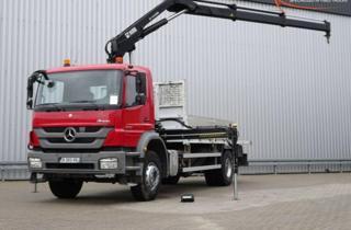 Mercedes-Benz Axor 1829 valník + HR EURO 5 valník