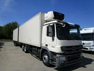 Mercedes-Benz 2541L 6x2 IZO+vlek izotherm
