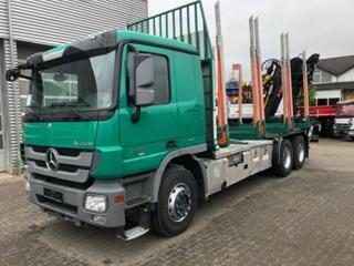 Mercedes-Benz Actros 2651 les 6x4 + HR pro přepravu dřeva