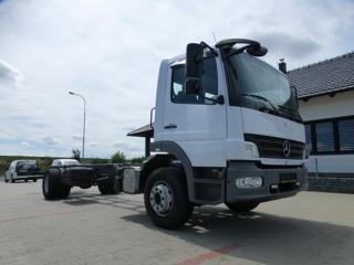 Mercedes-Benz + NOVÁ NÁSTAVBA pro přepravu kontejnerů