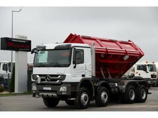 Mercedes-Benz Actros 4141 8x6, S3 Bordmatik sklápěč