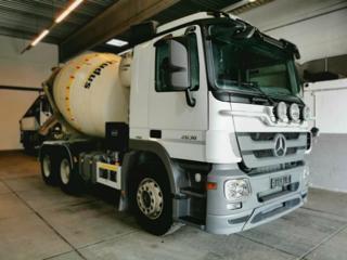 Mercedes-Benz 2636 6x4, betonmixer speciální nástavba