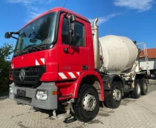 Mercedes-Benz 4141 MIX 8x4 speciální nástavba