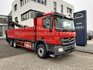 Mercedes-Benz Actros 2541 val 6x2 + HR valník