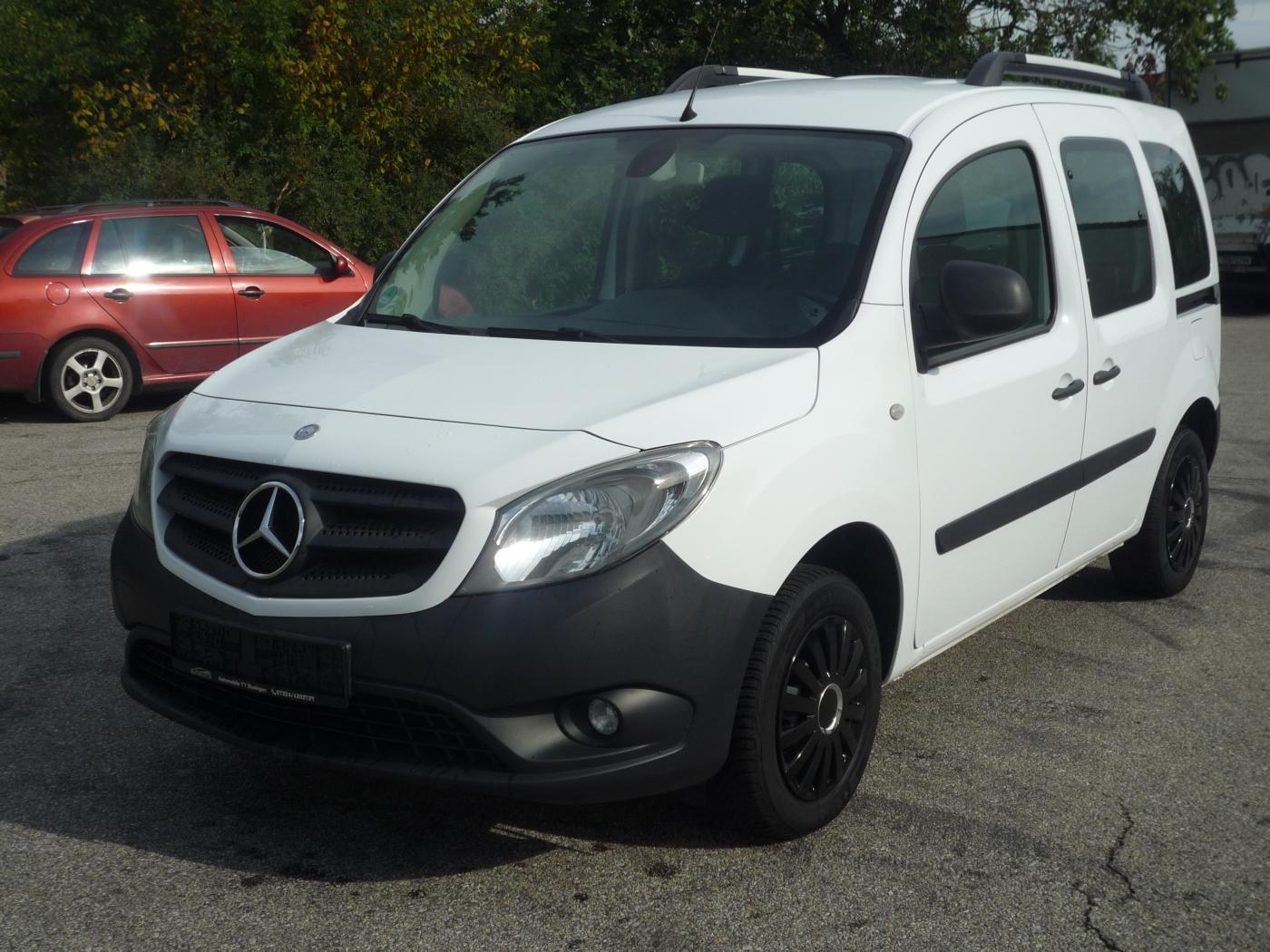 Mercedes-Benz Citan 1.5CDi 66kW,Klima,Výhřev,5sed VAN