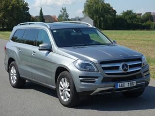 Mercedes-Benz GL 350D*4M*7MÍST*DISTRONIC*TOP*CZ SUV nafta