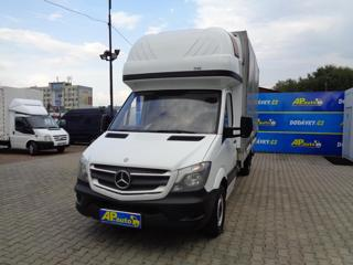 Mercedes-Benz Sprinter 316CDI VALNÍK 8PALET PLACHTA SPANÍ užitkové