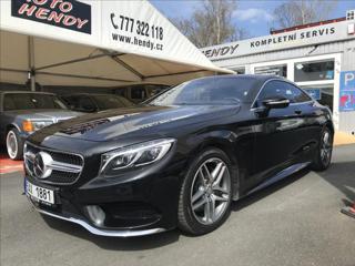 Mercedes-Benz Třídy S 4,7 500-4Matic-AMG-HUD-Masáž-CZ kupé benzin