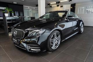 Mercedes-Benz Třídy E 2,0 E 220 d kabriolet AMG /360°/HUD  IHNED kabriolet nafta
