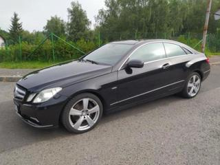 Mercedes-Benz Třídy E 3.0 CDi coupé kupé nafta