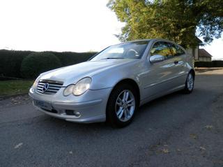 Mercedes-Benz Třídy C C 180 Coupe, Kůže, Automat, sada ko kupé