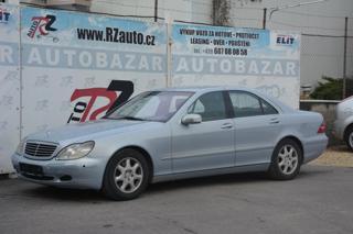 Mercedes-Benz Třídy S S 500 205kW limuzína