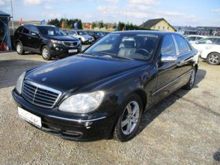Mercedes-Benz Třídy S S350 180kw odpočet DPH limuzína benzin