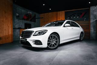 Mercedes-Benz Třídy S 4,0 S 560 4MATIC L, BURMESTER, LED  BR limuzína benzin