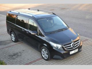 Mercedes-Benz Třídy V V 220, 120 kW, navi, 7G minibus nafta