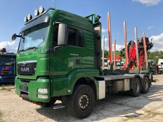 MAN TGS 26.540 6x4 Lesák pro přepravu dřeva
