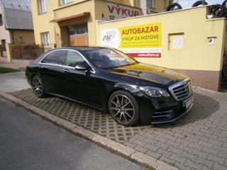 Mercedes-Benz Třídy S S 400d/L AMG  koup. v ČR sedan