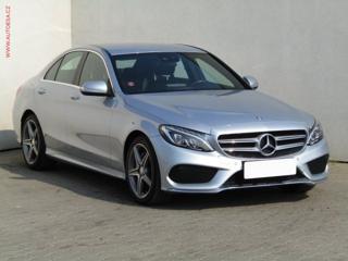 Mercedes-Benz Třídy C C180 1.6T, Navi, LED sedan benzin