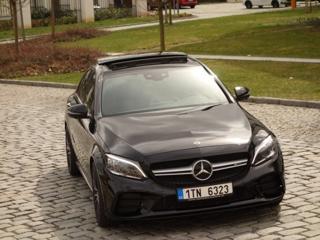 Mercedes-Benz Třídy C C43*AMG*4M*287KW*FACEL*TOP*CZ! sedan benzin