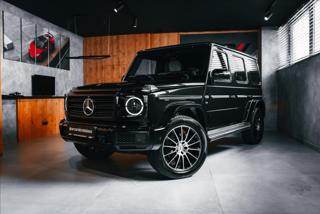 Mercedes-Benz Třídy G 4,0 G500, BURMESTER, DISTRONIC PLUS  BR SUV benzin