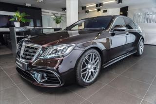 Mercedes-Benz Třídy S 4,0 63 AMG 4Matic+ L/Pano/HUD/AMG Driver  IHNED sedan benzin