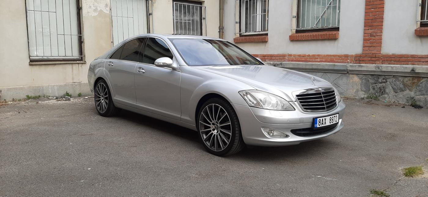Mercedes-Benz Třídy S S 320CDI REZERVACE AMG ALU sedan