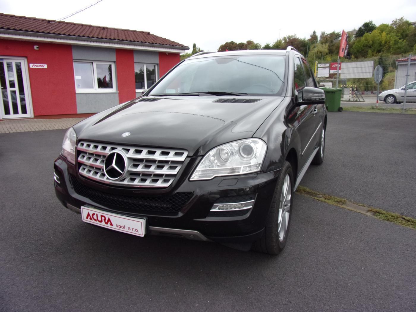 Mercedes-Benz Třídy M ML 350 CDI 4Matic 2.maj.ČR SUV