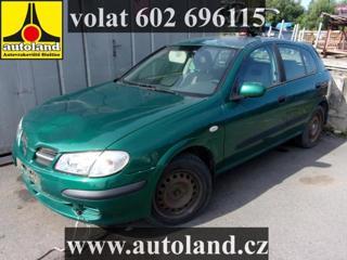 Nissan Almera VOLAT 602 696115 hatchback benzin