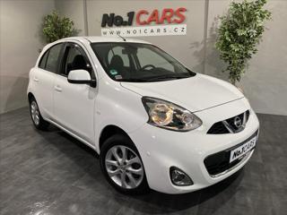 Nissan Micra 1,2   MAXIMÁLNÍ VÝBAVA + NAVI hatchback benzin