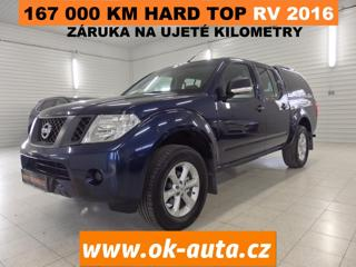 Nissan Navara 2.5DCI DOUBLE CAB HARD TOP2016 pick up