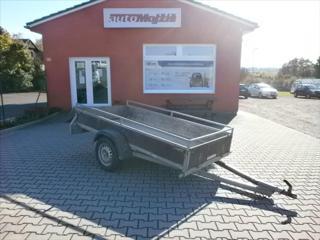 Ostatní 0,1 750 kg 1.MAJITEL  přívěs pro osobní valník benzin