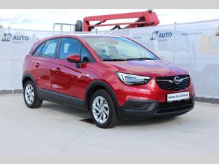 Opel Crossland X 1.2i,110HP,1.maj,ČR,tov.záruka SUV benzin