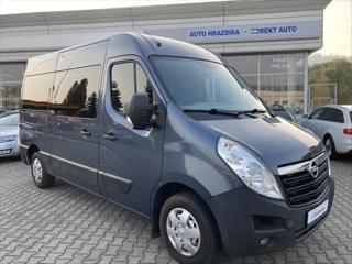 Opel Movano 2,3   DTI L2H2 BITURBO DPH 1.MAJ. ČR minibus nafta