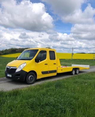 Opel Movano odtahový speciál odtahový vůz