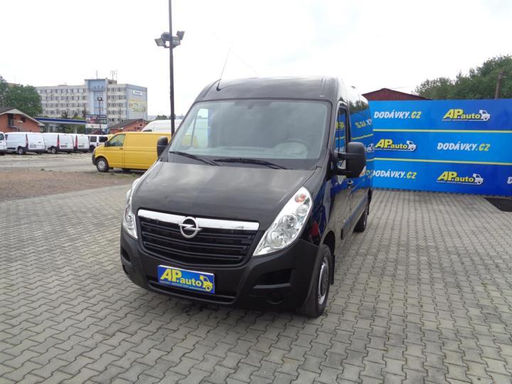 Opel Movano L2H2 9MÍST 2.3CDTI KLIMA SERVISKA užitkové